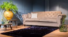 Sofa, Couch, Chesterfield, Love Seat, Interior Inspiration, Holland, Table, Furniture, Coffee