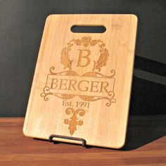 Family Name  Custom Engraved Bamboo by MarcellasEngravables, $20.00