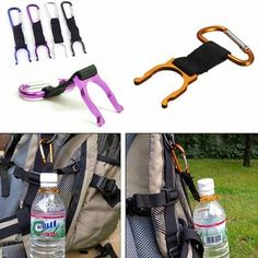 Camping Hiking Traveling Water Bottle Carabiner Buckle