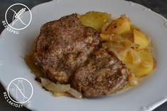 ŽENA-IN - Krkovička pečená na bramborách Steak, Steaks, Beef