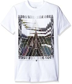 Zoo York Men's Short Sleeve Avalon T-Shirt: Zoo York short sleeve avalon crew neck graphic tee shirt. Graphic printed on center front panel…