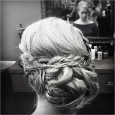 This was my hair for prom  teased, hairspray and 46 pins made this happen!
