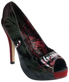 Chaussures IRON FIST - Wolfbeater Platform - http://rockagogo.com