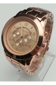 Michael Kors Men's Rose Gold Watch Runway