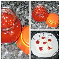 Compota de Tomate com Gengibre