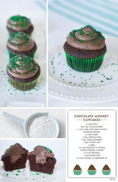 Whiskey Cupcakes | Red Stamp