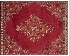 Bryson Persian Style Rug   Red