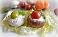 Champignons renversés / Pause Nature Pause, Baked Potato, Potatoes, Menu, Baking, Simple, Ethnic Recipes, Blog, Dinner