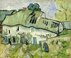 Vincent van Gogh Farmhouse Auvers-sur-Oise, May - June 1890 oil on canvas, 38.9 cm x 46.4 cm