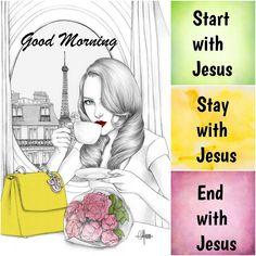 Goeie Nag, Goeie More, Good Morning, Good Day, Buen Dia, Bonjour