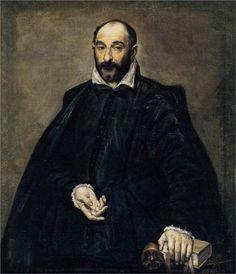 Portrait of Italian Renaissance Architect Andrea Palladio by Spanish artist El Greco, 1575 Andrea Palladio, Jan Van Eyck, Hieronymus Bosch, Oil On Canvas, Canvas Art, Rome Antique, National Gallery, Creta, Portraits
