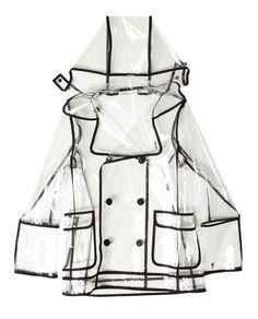 WANDA NYLON  TRANSPARENT PVC PEACOAT