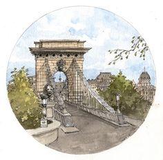 Paris and Budapest