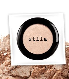 stila eyeshadow in Kitten -- I'm not a huge fan of eyeshadow, but I make an exception for this color. It's great for pale people like me!