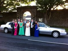 Stretch Limo Hire Ireland for the Debs Ball