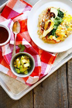 Breakfast Tacos with Tapioca Flour Tortillas