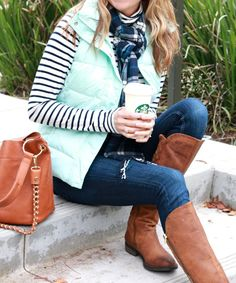 Saturday Shopping: Mint and  Navy