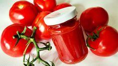 Domáci paradajkový pretlak Hot Sauce Bottles, Ale, Stuffed Peppers, Vegetables, Food, Recipes, Ale Beer, Stuffed Pepper, Essen