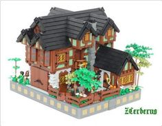 Lego. Victorian house