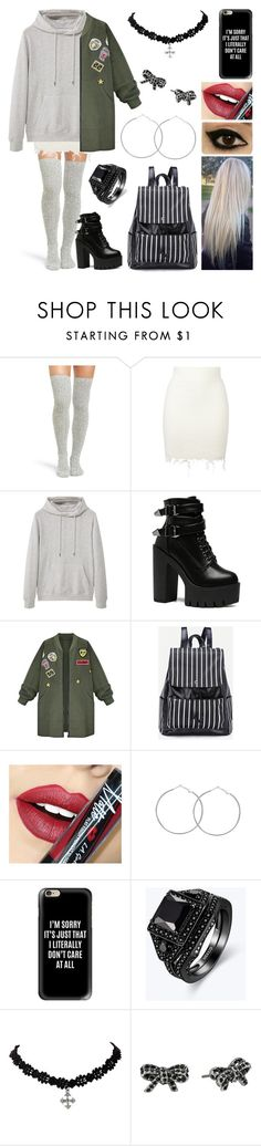 """Non ho voglia di andare a scuola"" by nena69 ❤ liked on Polyvore featuring Peony & Moss, adidas Originals, MANGO MAN, WithChic, Fiebiger, Casetify and Marc Jacobs"