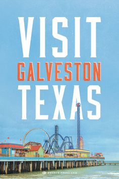 Spend the weekend in Galveston, Texas for a great touristy vacation. Good to know since we live in TX now :)
