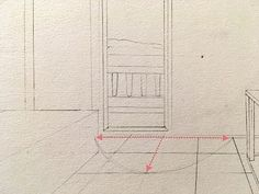How to draw in perspective. What is linear perspective with one, two or three vanishing points and how to add figures when drawing. Atmospheric perspective and its influence on landscape painting. Types Of Perspective, Perspective Drawing Lessons, Point Perspective, Pencil Drawings For Beginners, Realistic Drawings, Art Drawings Sketches, Painting Lessons, Painting & Drawing, Architecture Concept Drawings