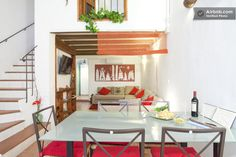 £82, looks nice 3 beds,  not sure of area, Spanish listing,  only 1 review