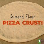 Need a gluten free pizza crust? Try this grain free almond flour pizza crust. This simple to make and delicious pizza crust is hard to tell it isn't made with wheat. Give almond flour pizza crust a try, I'm sure your family will enjoy it! Pizza Sans Gluten, Low Carb Pizza, Low Carb Bread, Keto Bread, Pizza Pizza, Almond Flour Pizza Crust, Almond Pizza Crust Recipe, Paleo Pizza Crust, Almond Flour Bread