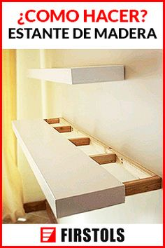 How to build floating shelves? Building invisibly attach floating shelves on walls can be quite easy. DIY building floating shelves can add decorative value to the room Floating Shelves Bedroom, Floating Corner Shelves, Building Floating Shelves, Corner Shelves Bedroom, How To Make Floating Shelves, Modern Floating Shelves, Diy Regal, Young House Love, Wooden Cabinets