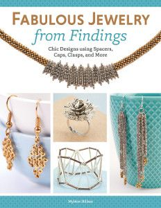 Enter to win the Fabulous Jewelry from Findings Book Giveaway! We are giving away an advanced copy of Fabulous Jewelry from Findings: Chic Designs Using Spacers, Caps, Clasps, and More by Myléne Hillam to one lucky winner. The deadline to enter is November 10, 2014, at 11:59:59 p.m. Eastern Time.