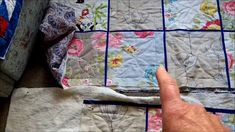 Quilt as You Go in Sections - Another QAYG idea