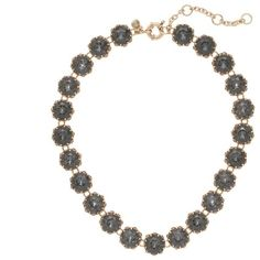 J.Crew Crystal sparkle necklace ($115) ❤ liked on Polyvore