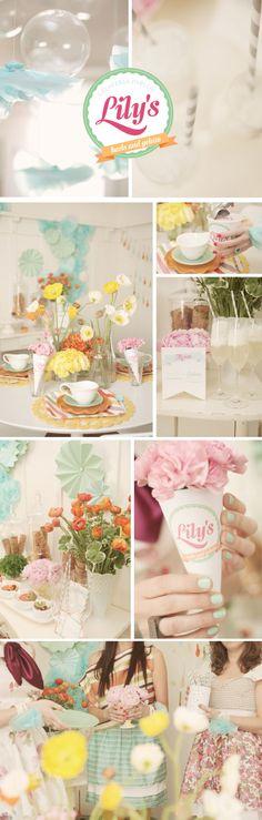 love the soft colour palette & decor ideas