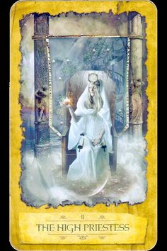 The High Priestess is our #dailytarot today, an exciting card to see if you are on the quest for higher information. Your guide may send you a message today, dismiss nothing.