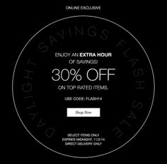 ea963091692aa Daylight Savings Flash Sale – Get 30% Off Top Rated Items Use Promo Code