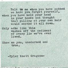 Typewriter Series #2103 by Tyler Knott Gregson