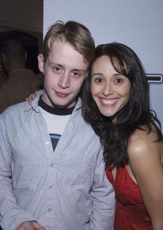 Macaulay Culkin and Adrianne Rey