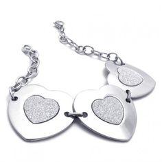 8.3 inch Titanium Bracelet for Women 20744
