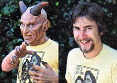 Rick Baker 'Monster Maker', makeup artist on The Exorcist, An American Werewolf In London, Videodrome and Michael Jackson's Thriller #grimmupnorth #horror