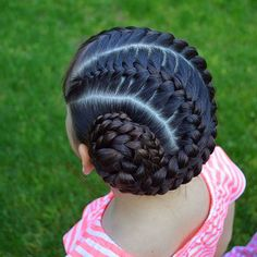 easy hairstyles with curls Faces Lil Girl Hairstyles, Kids Braided Hairstyles, Princess Hairstyles, Canerow Hairstyles, Braids For Kids, Girls Braids, Kid Braid Styles, Natural Hair Styles, Long Hair Styles