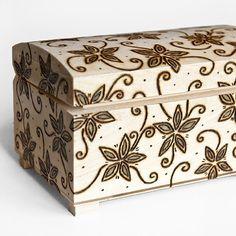 #jewelry #box #wood #burned #flowers #gift #etsy #шкатулка #коробочка #дерево #обжиг #рукоделие