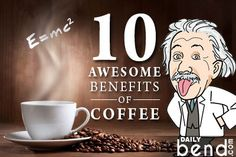 Here are 10 Surprising Benefits of Coffee You Might Not Know About: Coffee Can Protect Against Heart Attacks and Heart Failure A large study found . Coffee Container, Heart Failure, Coffee Benefits, Coffee Cans, Florida, Study, Running, Facebook, Bag