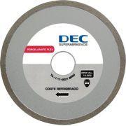 Disco Para Serra Mármore Porcelanato Flex - Dec - Disco de diamante 110mm para máquinas manuais.     Alta produção porcelanatos, azulejos e cerâmicas, corte refrigerado. www.colar.com
