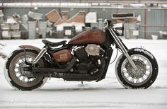 Honda Shadow White Trash 14