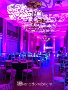 A Wedding Events Done Bright provided multiple services for at the beautiful Yorktowne Hotel.