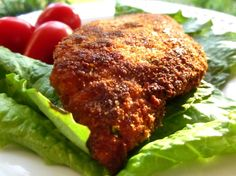 A basic lightly breaded seasoned and sauteed chicken breast that can be served as is with rice and a vegetable, or topped with tomato sauce and mozzarella and briefly baked for chicken parmesan, or put in Italian bread, with or without cheese, with tomato sauce, pesto or mayo, and enjoyed as a sandwich.