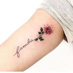 Feed Your Ink Addiction With 50 Of The Most Beautiful Rose Tattoo Designs For Men And Women Trendy Tattoos, Unique Tattoos, Cute Tattoos, Tatoos, Tattoos Masculinas, Colorful Tattoos, Tiny Rose Tattoos, Flower Wrist Tattoos, Small Tattoos