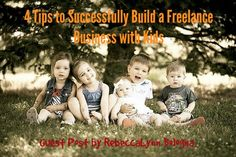 For any of you stay-at-home mamas that are struggling with building a business and raising kiddos at the same time - RebeccaLynn  is KILLING it and doing both well!