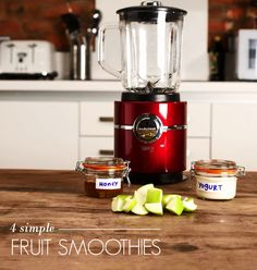 4 Simple Fruit Smoothies