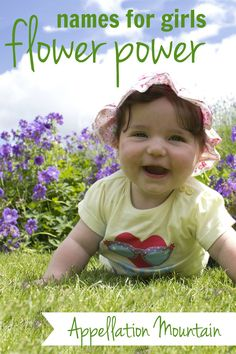 Unusual flower baby names for girls. Love names like Lily, but prefer unusual names? This list is for you! Vintage Baby Names, Modern Baby Names, New Baby Names, Unisex Baby Names, Cute Baby Names, Baby Names Flowers, Best Girl Names, Nature Names, Uncommon Baby Names